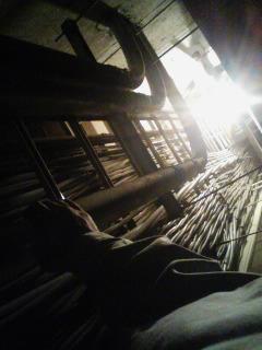 天井裏について