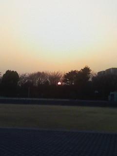 夕日について
