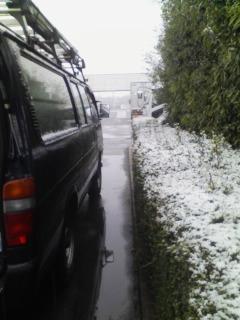 おい雪じゃ