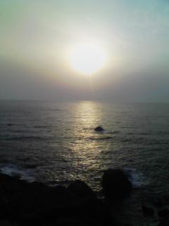 海について